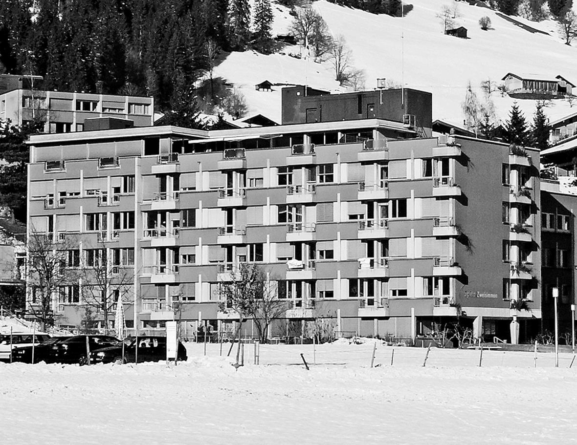 Neues Akutspital Simmental–Saanenland in Zweisimmen